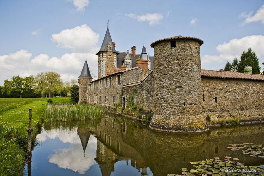 Hotel Saint Sauveur De Landemont Schlosshotel Loiretal Luxushotel Luxury Castle Loire Valley